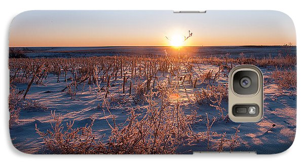 Galaxy Case featuring the photograph A Cold December Morning by Monte Stevens