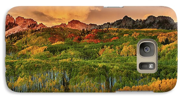 Galaxy Case featuring the photograph A Colorado Autumn Along Kebler by John De Bord