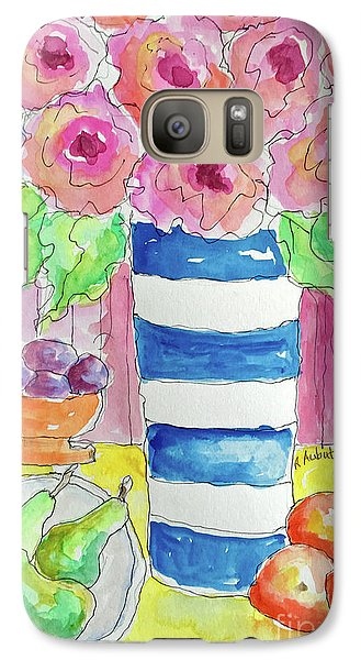 Galaxy Case featuring the painting Fruit Salad by Rosemary Aubut