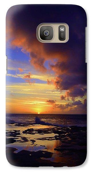 Galaxy Case featuring the photograph A Dark Cloud Among Colour by Tara Turner