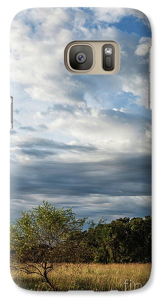Galaxy Case featuring the photograph A Day In The Prairie by Iris Greenwell