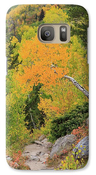 Yellow Drop Galaxy S7 Case