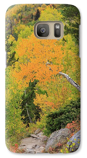 Galaxy Case featuring the photograph Yellow Drop by David Chandler