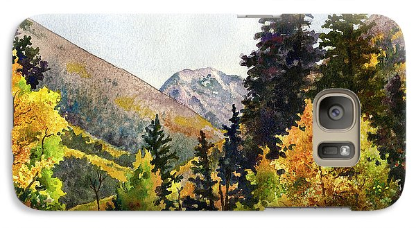 Galaxy Case featuring the painting A Drive In The Mountains by Anne Gifford