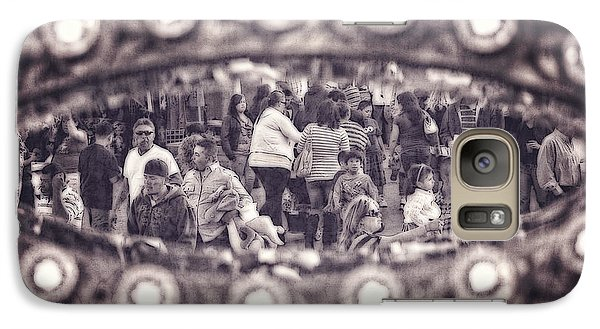 Galaxy Case featuring the photograph A Fair Day by Caitlyn  Grasso