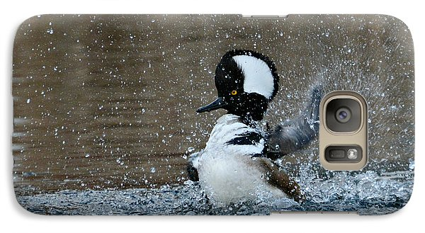 Galaxy Case featuring the photograph A Flurry Of Feathers by Fraida Gutovich