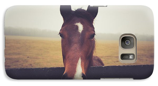 Galaxy Case featuring the photograph A Foggy Christmas Day by Shane Holsclaw