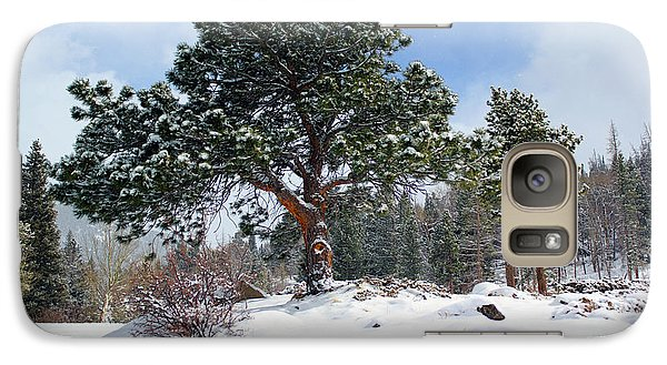 Galaxy Case featuring the photograph A Fresh Blanket Of Snow by Shane Bechler