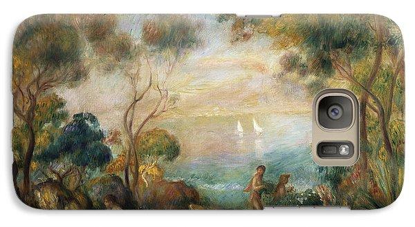 A Garden In Sorrento Galaxy Case by Pierre Auguste Renoir