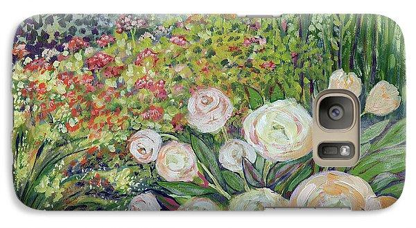 Impressionism Galaxy S7 Case - A Garden Romance by Jennifer Lommers