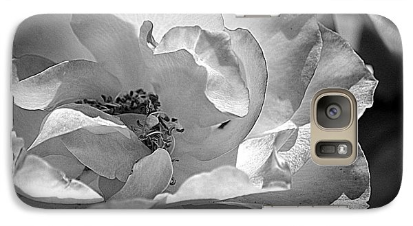 Galaxy Case featuring the photograph A Garden Treasure by Lori Seaman