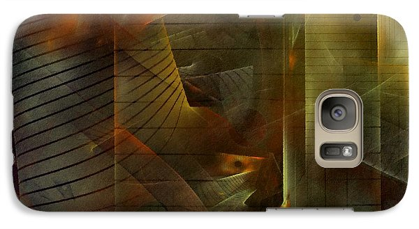 Galaxy Case featuring the digital art A Ghost In The Machine by NirvanaBlues