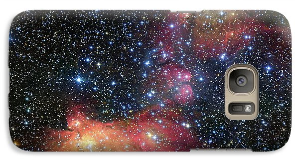 Galaxy Case featuring the photograph A Glowing Gas Cloud In The Large Magellanic Cloud by Eso