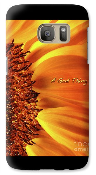 Galaxy Case featuring the photograph A God Thing-2 by Shevon Johnson