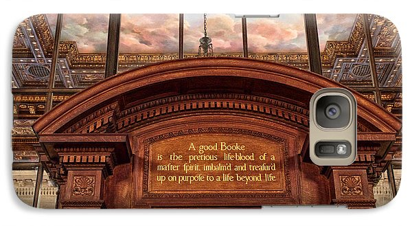 Galaxy Case featuring the photograph A Good Book by Jessica Jenney