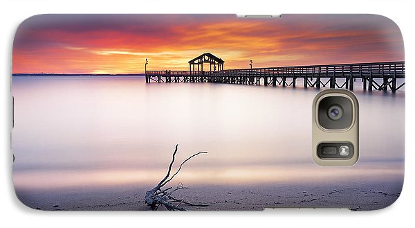 Galaxy Case featuring the photograph A Good Morning by Edward Kreis