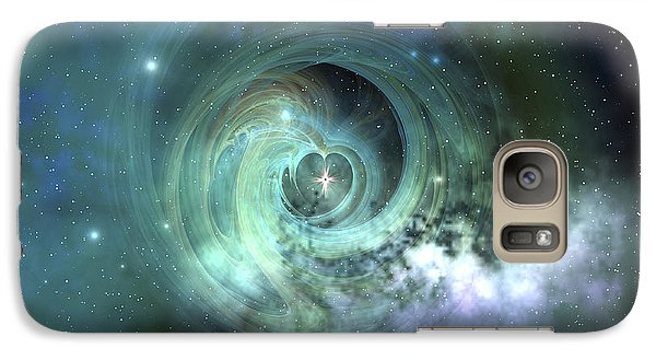 A Gorgeous Nebula In Outer Space Galaxy S7 Case by Corey Ford