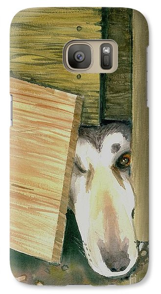 Galaxy Case featuring the painting A Great Escape  -variation 2 by Yoshiko Mishina