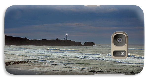 Galaxy Case featuring the photograph A Guiding Light by Jim Walls PhotoArtist