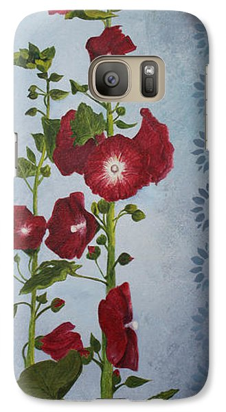 Galaxy Case featuring the painting A Happy Home by Jane Autry
