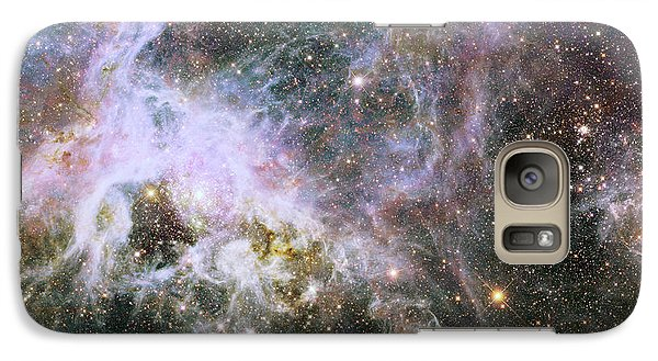 Galaxy Case featuring the photograph A Hubble Infrared View Of The Tarantula Nebula by Nasa
