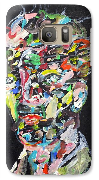 Galaxy Case featuring the painting A Life Full Of Oppurtunities by Fabrizio Cassetta