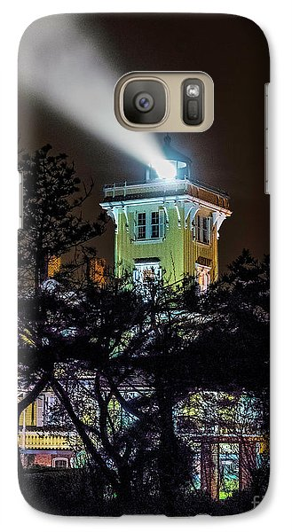 Galaxy Case featuring the photograph A Light In The Darkness by Nick Zelinsky
