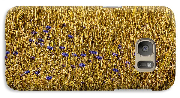Galaxy Case featuring the photograph A Little Blue by Odd Jeppesen