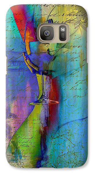 Galaxy Case featuring the digital art A Little Wining by Greg Sharpe