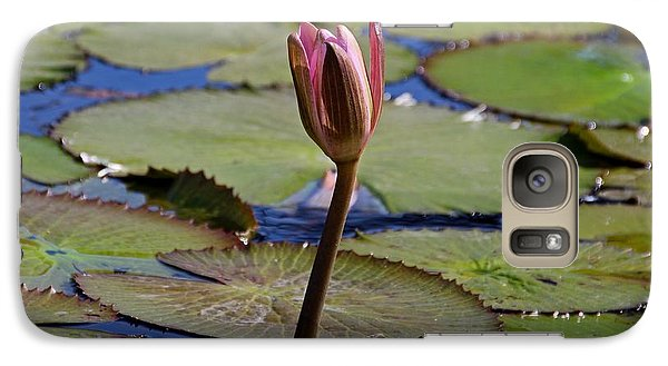 Galaxy Case featuring the photograph A Lonely Vigil by Michiale Schneider