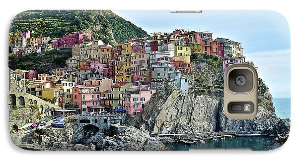 Galaxy Case featuring the photograph A Manarola Morning by Frozen in Time Fine Art Photography