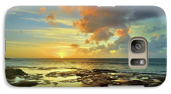 Galaxy Case featuring the photograph A Marmalade Sky In Molokai by Tara Turner