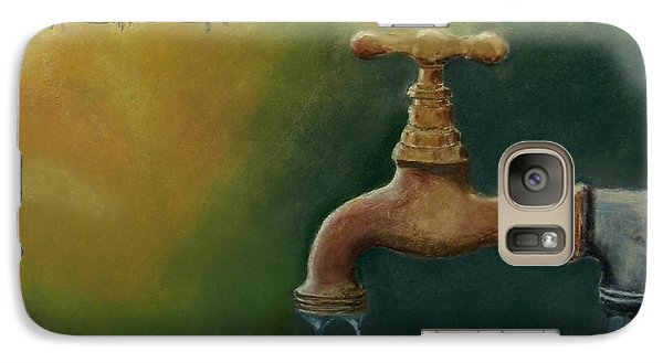 Galaxy Case featuring the painting A Matter Of Watter by Ceci Watson