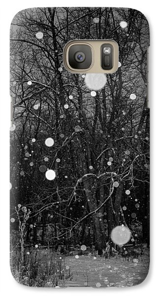 Galaxy Case featuring the photograph A Message by Annette Berglund