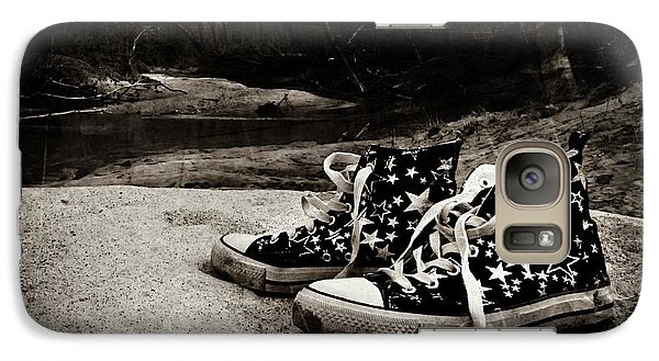 Galaxy Case featuring the photograph A Mile In My Shoes by Jessica Brawley