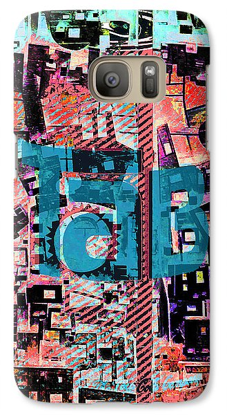Galaxy Case featuring the mixed media A Million Colors One Calorie by Tony Rubino