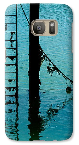 Galaxy Case featuring the photograph A Modicum Of Maritime Minimalism by Chris Lord