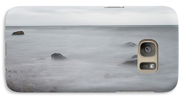 Galaxy Case featuring the photograph A Moment In Time On The Beach by Andrew Pacheco