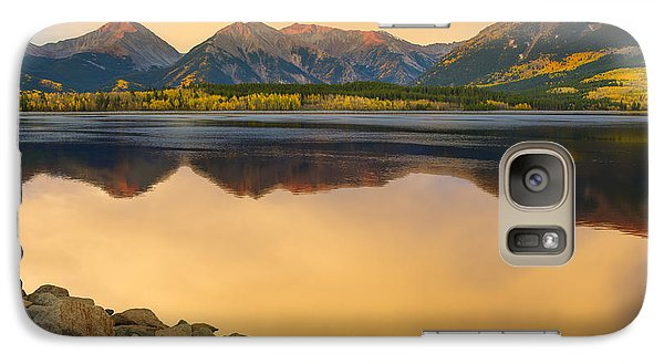 Galaxy Case featuring the photograph A Moment In Time by Tim Reaves