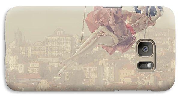 Surrealism Galaxy S7 Case - a morning over Oporto by Anka Zhuravleva