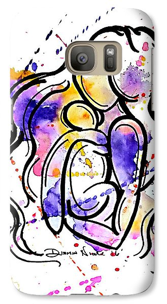A Mother's Love Galaxy Case by Diamin Nicole