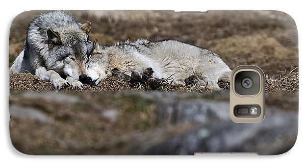 Galaxy Case featuring the photograph A Much Needed Rest by Michael Cummings