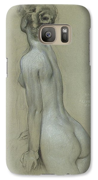A Naiad In The Lament For Icarus Galaxy S7 Case by Herbert James Draper