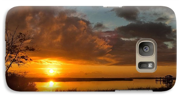 Galaxy Case featuring the photograph A New Beginning by Laura Ragland