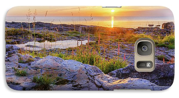 Galaxy Case featuring the photograph A New Day's Born by Dmytro Korol