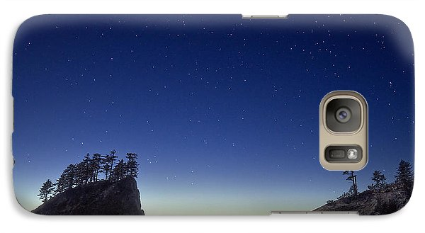 Galaxy Case featuring the photograph A Night For Stargazing by William Lee