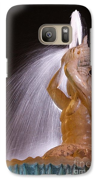A Nighttime Shower Galaxy S7 Case