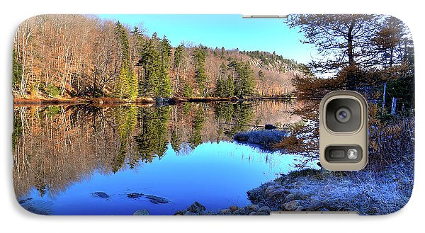 Galaxy S7 Case featuring the photograph A November Morning On The Pond by David Patterson