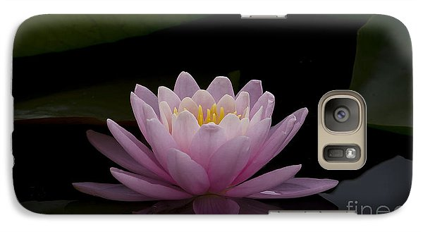 Galaxy Case featuring the photograph A Perfect Bloom by Andrea Silies