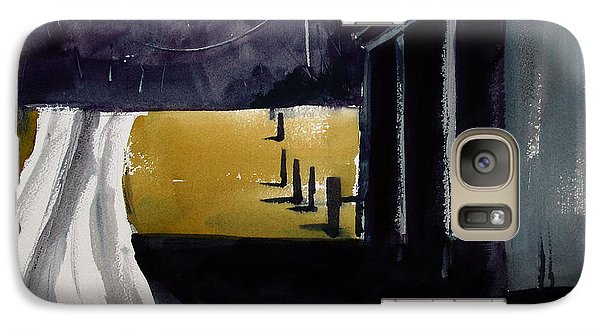 Galaxy Case featuring the painting A Perfect Shadow by Charlie Spear